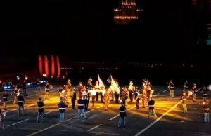 Греческий военный оркестр заворожил зрителей на Красной площади в Москве