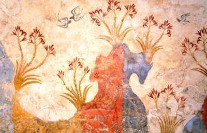 Весенняя фреска Санторини: первая картина природы в истории европейского искусства
